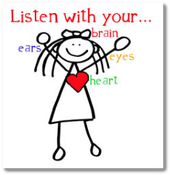 Image result for listen with your heart