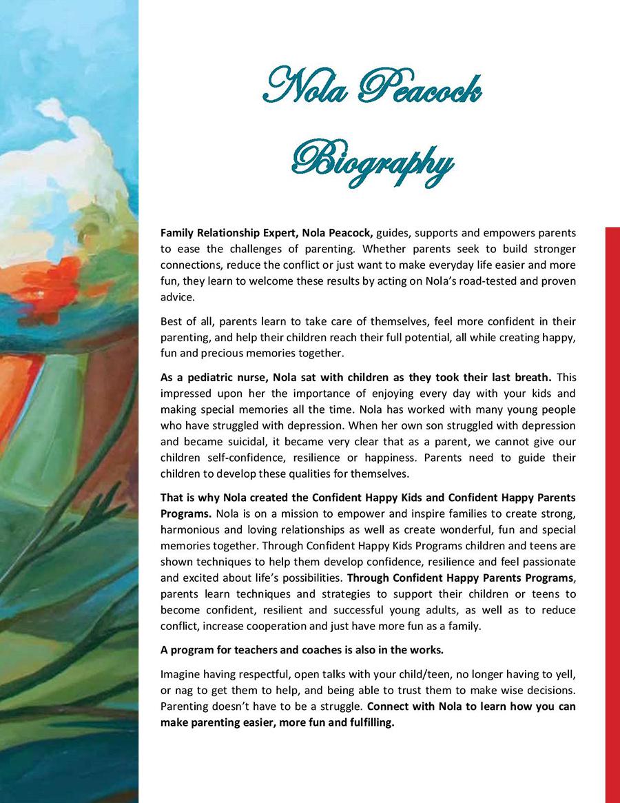 Nola Peacock Biography