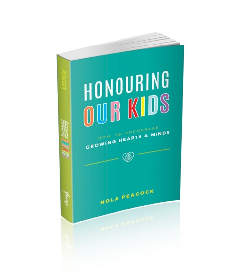 picture of Nola's book re: honouring our kids